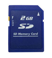 2 Go de classe2 SD-M02G carte SD standard Secure Carte mémoire SD pour les caméras numériques et caméscopes Verrouiller Memoria SD (TF-0083)