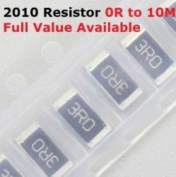 Le SMD 2010 5025 3/4W 5 % 1 % de la puce à couche épaisse de la résistance (1 ohm ~ 10 Mohm)