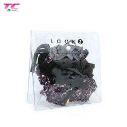Impressão personalizada de plástico impermeável Bra Garment bag, de fábrica personalizada de película de plástico de PVC/EVA/CPE Wet Bikini Bag para calções de Acondicionamento