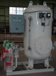 L'eau douce du réservoir sous pression