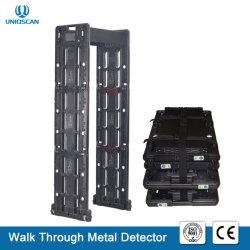 Portable marcher à travers la porte du détecteur de métal pour système d'inspection de sécurité pour l'Stadium