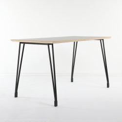 최신 디자인 고품질 우아한 강철 목제 유행 식탁
