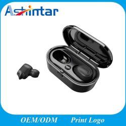 Draadloze Hoofdtelefoon van de Microfoon van de Hoofdtelefoon Earbuds van de Oortelefoons van sporten 3D Stereo Mini Dubbele