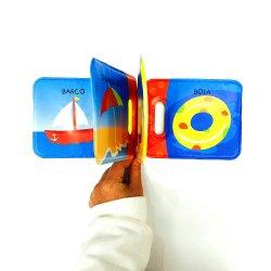 Brinquedos educativos de plástico macio EVA impermeável banheira de bebé de endereços