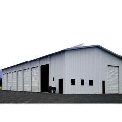 Portal Winddichtes Haus Pre-Februated Stahl Gebrauchten Stoff Lagerhaus Gebäude