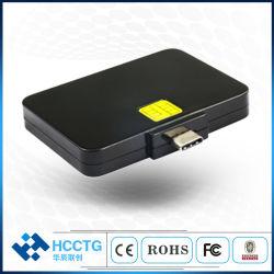 PC/Sc Ccid Protocal (DCR32)를 가진 마이크로 USB 이동할 수 있는 지능적인 IC 칩 카드 판독기 작가 일치