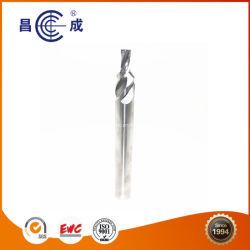 4 Flûtes atypique de carbure de tungstène extrémité verticale moulin pour le découpage des métaux