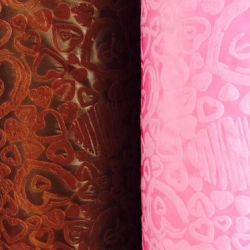 Nova chegada Coração Fashion de PP Spunbond Tecido Non-Woven para embalar