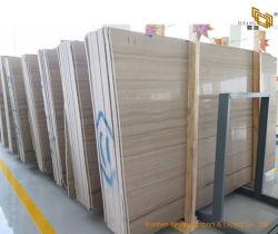 Du marbre naturel poli blanc/gris/brun/plaques de marbre/de tuiles en bois/Comptoirs/du mur pour le projet