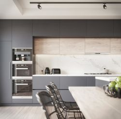 Домашняя кухня современная мебель шкаф кухня Cabinetry лака