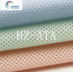 100 tessuto di maglia del distanziatore del poliestere 3D spesso 2 millimetri per la sede di automobile, materassi, sofà