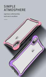 대중적인 이동 전화 상자 iPhone Xr/Xs/iPhone11, 전화 상자 TPU+PC 2+1를 위한 새로운 베스트셀러 이동 전화 상자