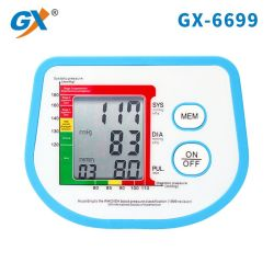 Электронные Sphygmomanometer медицинского обслуживания Цифровой верхний рычаг для измерения кровяного давления