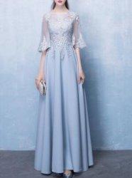 Blauer Abend-Kleid-Bonbon für Damen