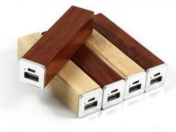 источник питания деревянные портативные зарядки телефона 2600Мач Банка питания (для мобильных телефонов)