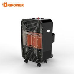 Портативный мини-крытый черно-белый цвет Инфракрасный нагреватель газа