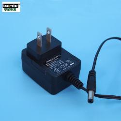 OEM-Universal Plug and бесплатный образец 5V 9V 12V 24V 0,5 А 1A 2A 3A настенное зарядное устройство/AC адаптер питания постоянного тока GS fcc ce ul настенный тип адаптера
