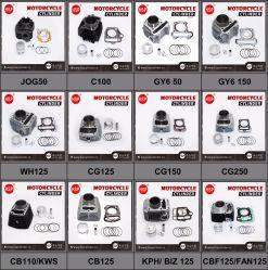 Honda C CD CG WH GY 50를 위한 고품질 기관자전차 스쿠터 모터바이크 먼지 자전거 엔진 부품 실린더 장비 기관자전차 엔진 예비 품목 70 90 100 125 150 200