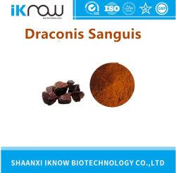 Venda a quente CAS 400603-95-4 Dragon Sangue Extrato de resina em pó 1,0% Draconis Sanguis pó vermelho escuro