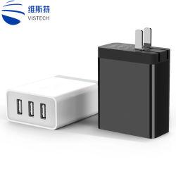 3 Lader USB voor Mobiele Telefoon/Slimme Phone/MP4 Om het even welke Apparaten