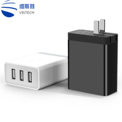 3 carregador USB para telemóvel/Smart Phone/MP4 quaisquer dispositivos