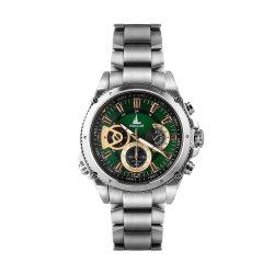 ステンレス鋼はクロノグラフ防水男性用腕時計を遊ばす