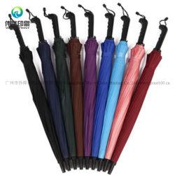 Longue poignée droite Promotion publicitaire parapluie de mode