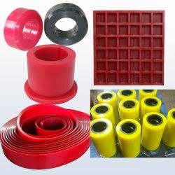 주문 모양 또는 경도 던지기 폴리우레탄 제품 PU 부속