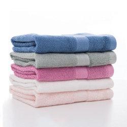 Toalla de baño de lujo, productos textiles toallas 100% Algodón Toalla de Mano de fibra de bambú para el spa del hotel