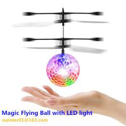 Sunnier RC игрушкой, RC инфракрасный индуктивные вертолет шарик встроенный Shinning светодиодного освещения для детей и подростков красочные Flyings для детской игрушкой, мини-Flying шаровой шарнир