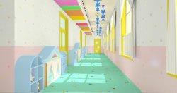 Stuoie della pavimentazione del vinile del PVC della sala di bambini