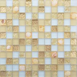 Hochwertige Dekoration Shell-Muster Wohnzimmer Wandglas Mosaik