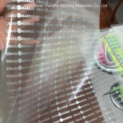 熱伝達の用紙解放コーティングペットフィルム冷たいリリース光沢のある終わりの洗浄ラベルの首のラベル