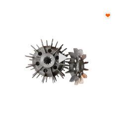 Las aspas del ventilador del motor eléctrico para pasajeros elevador