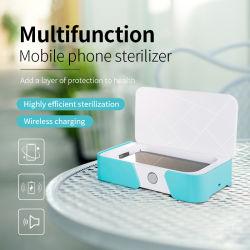 Mini Téléphone mobile léger stérilisateur UVC Box de 99,9 % tuer les germes Smartphone de poche UV d'expurger de téléphone cellulaire