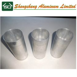 Pilar grande y redondo molde vela aluminio perfecta/ Hacer Velas Molde