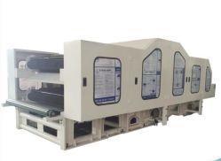Cardatrice a doppio cilindro per saldatura termica Linea di produzione di tessuti geotessili/tessuti per tappeti/non tessuti/feltro per punzonatura ad ago/ovatta senza colla