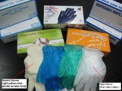 Medizinische Vinylprüfung-Lebensmitteldienst-Wegwerfprüfungs-hausmeisterliche Handschuhe