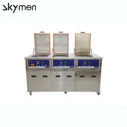 Varias fases/Depósito Industrial/Cámara Limpiador ultrasónico/Sistema de limpieza, limpieza de la máquina para lavar las piezas de metal
