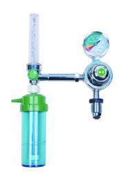 Satety High Pressure Medical Oxygen Regulator 、酸素ガスシリンダ用フィオーメータ付き