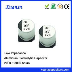 16V 680ОФ 3000часов SMD высокая частота электролитические конденсаторы