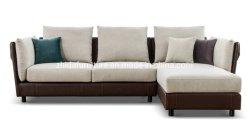 Arredamento moderno, tessuto in pelle, soggiorno, divano in poliestere
