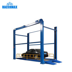 Automoción hidráulico automático nuevo alquiler de carretilla de elevación de 4 postes