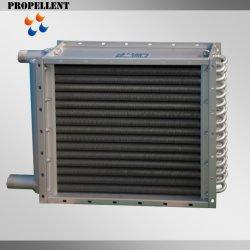 Cobre/Titanium/Alumínio Tubo Aletado Permutador de calor ar para o resfriador de ar e do Aquecedor