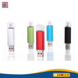 Heiße Verkaufs-preiswerte Mikro OTG grelles Laufwerk USB-Hochgeschwindigkeits3.0 für Smartphone u. Tablette PC