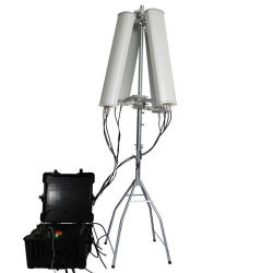 600 واط 4-8 نطاقات طاقة عالية الهاتف المحمول GPS WiFi 2.4G 5.8g إشارة الطائرات الصغيرة من دون طيار تصل إلى 2500 متر