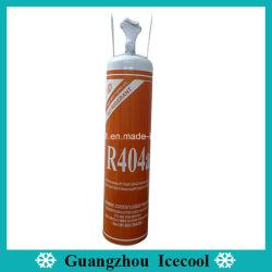 Gas Refrigerant netto di marca R404A del Rb del peso 800g con la maniglia per il condizionatore d'aria dell'automobile