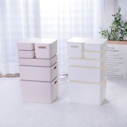 Apilables cajas de herramientas de alta calidad para almacén/ Anaqueles de plástico