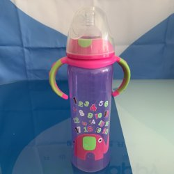 Sports Plastikkind 420ml Wasser-Flaschen-Baby-führende Flasche