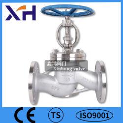 """CF8/CF8m con bridas de acero inoxidable de alta calidad de la válvula de globo de 1/2"""" de la clase150 ANSI"""